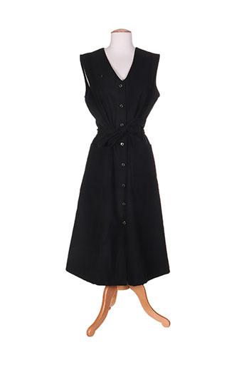 marie de marcille robes femme de couleur noir