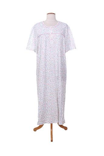 eliane chemises et de et nuit femme de couleur blanc