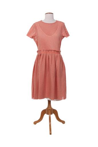 mademoiselle.r robes femme de couleur rose