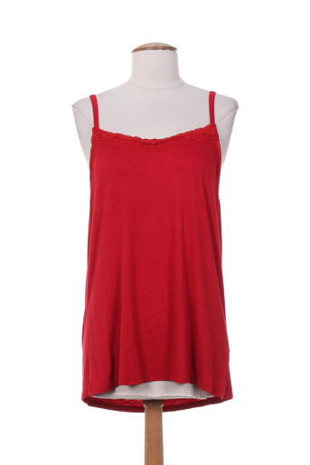 sabrina chemises femme de couleur rouge