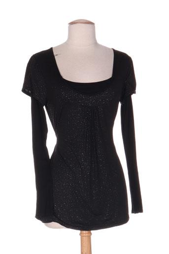 charbell chemises femme de couleur noir