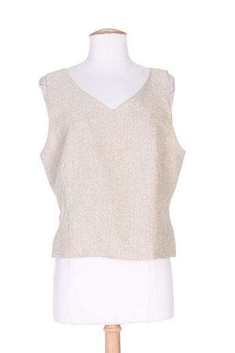 mitsouki chemises femme de couleur beige