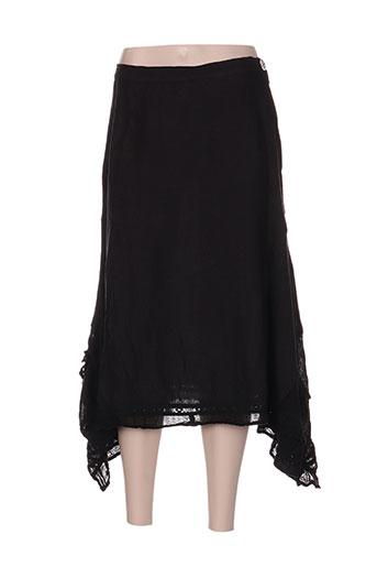 heteroclite jupes femme de couleur noir