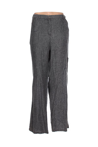 alexo pantalons femme de couleur gris