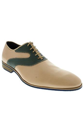 saint georges chaussures homme de couleur vert