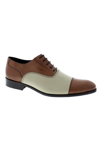 saint georges chaussures homme de couleur beige
