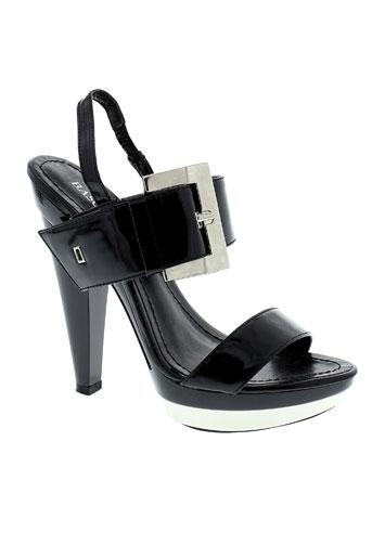 basconi chaussures femme de couleur noir