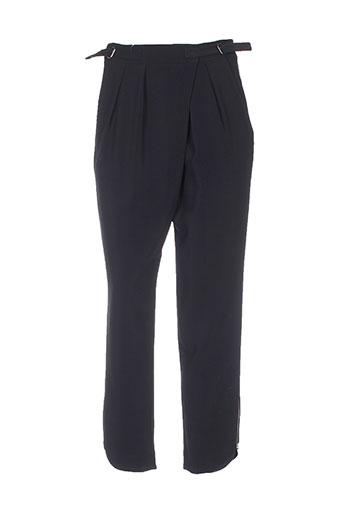Pantalon 7/8 noir AMZ pour femme