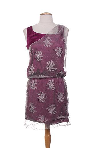 charabia robes femme de couleur violet