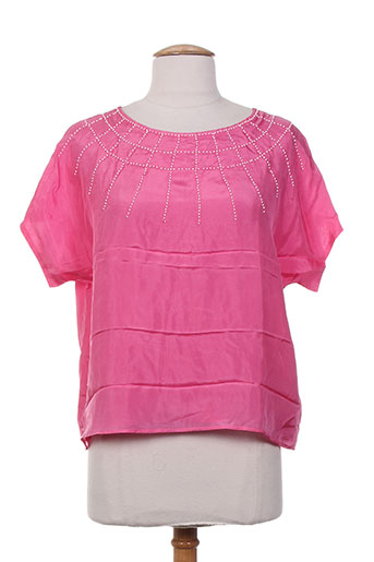 charabia chemises femme de couleur rose