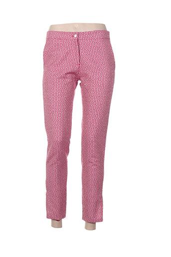 charabia pantalons femme de couleur rose