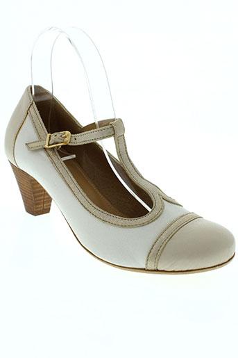 pam project chaussures femme de couleur beige