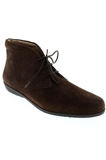 johann chaussures homme de couleur marron
