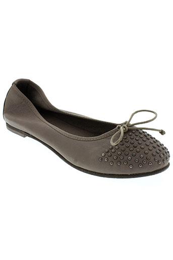 anna fidanza chaussures femme de couleur gris