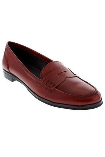 johann chaussures femme de couleur rouge