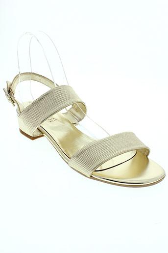 johann chaussures femme de couleur jaune