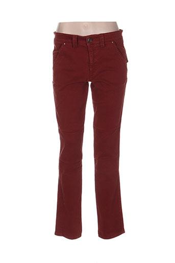 my pants jeans femme de couleur rouge