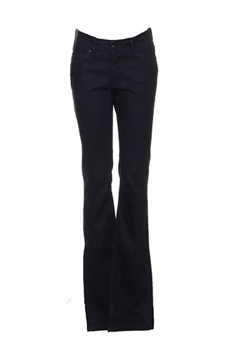 Jeans coupe droite bleu DENIMOOD pour femme