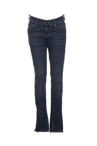 Jeans coupe slim bleu DENIMOOD pour femme