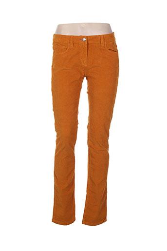 was pantalons femme de couleur jaune
