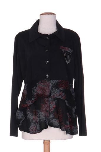 carole richard tuniques femme de couleur noir