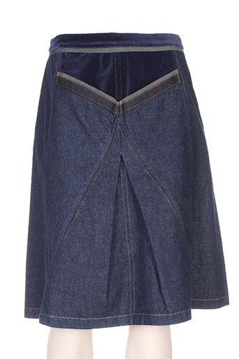 all beautiful jupes femme de couleur bleu