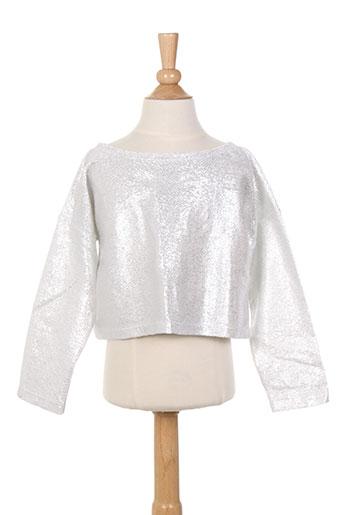 elisabeth puig chemises fille de couleur gris