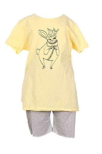 theodore ensemble garçon de couleur jaune