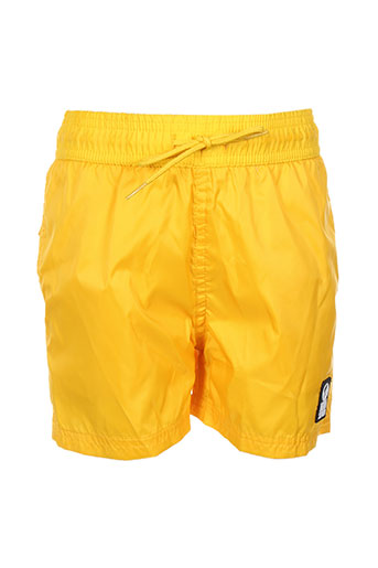 hero seven maillots de bain garçon de couleur jaune
