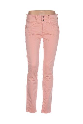 tiffosi pantalons et decontractes femme de couleur rose