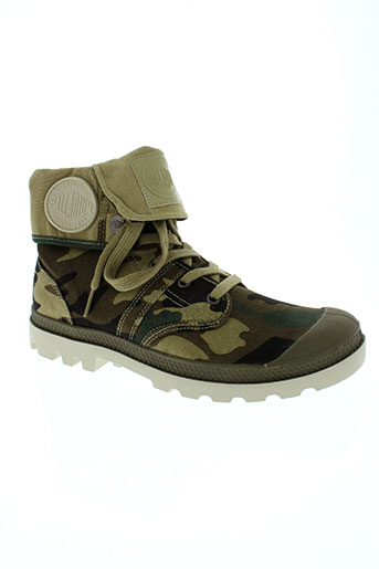 palladium chaussures unisexe de couleur vert