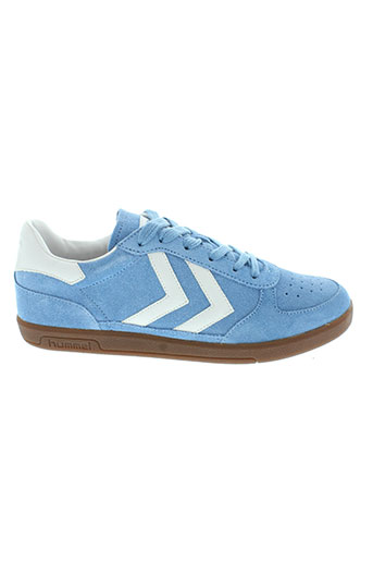 hummel chaussures femme de couleur bleu