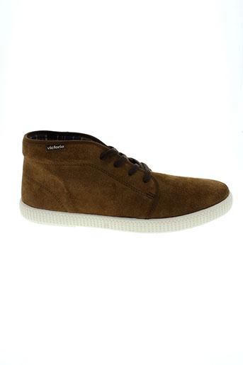 victoria chaussures garçon de couleur marron