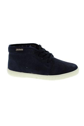 victoria chaussures garçon de couleur bleu