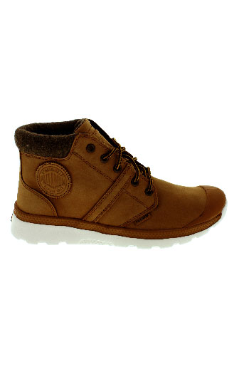 palladium boots homme de couleur marron