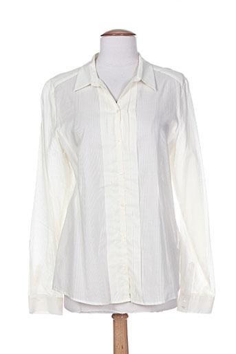 mexx chemises femme de couleur beige