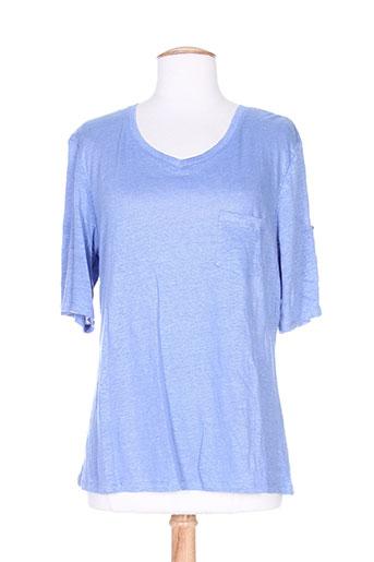 giorgio barbara t-shirts femme de couleur bleu