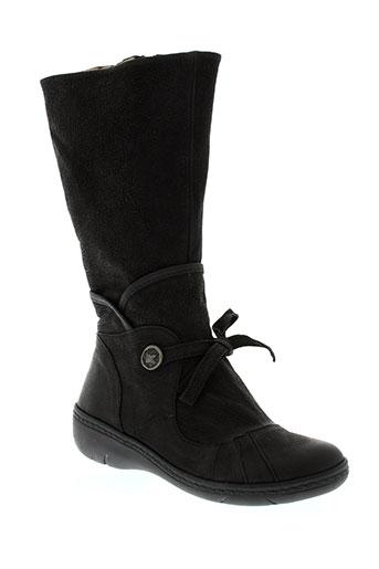 dkode bottes femme de couleur noir
