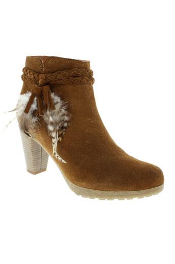 reqins boots femme de couleur marron