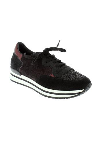reqins chaussures femme de couleur rouge