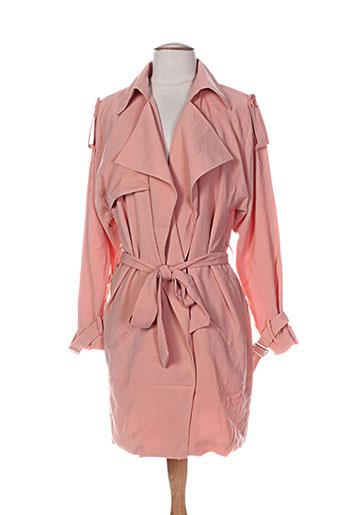 kimi EFFI_CHAR_1 co manteaux femme de couleur orange