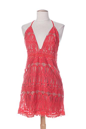 kimi EFFI_CHAR_1 co chemises femme de couleur rouge