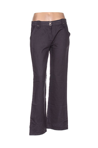 a.c.b by j.e creation pantalons femme de couleur gris