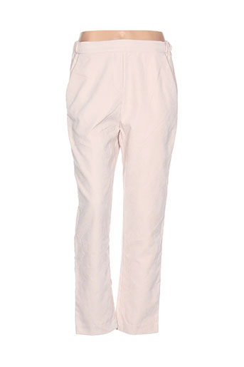 lucy EFFI_CHAR_1 co pantalons femme de couleur beige
