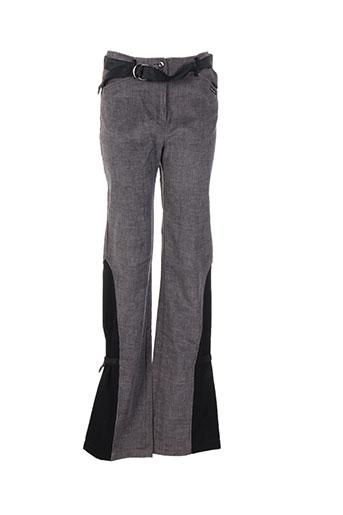 chrismas et s pantalons et decontractes femme de couleur gris