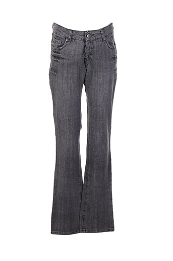 Jeans coupe droite gris GALLICE pour femme
