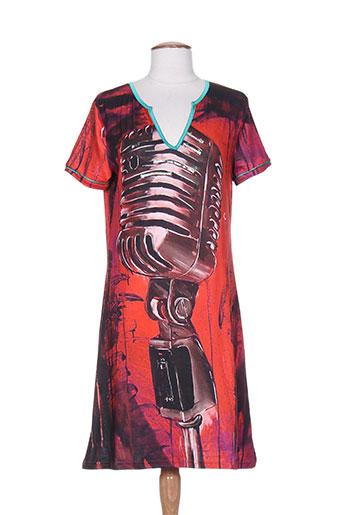 culito robes femme de couleur rouge