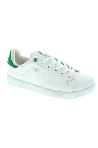cash money chaussures garçon de couleur blanc