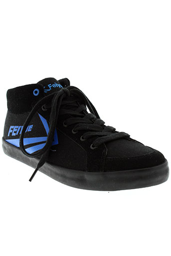 feiyue baskets homme de couleur noir