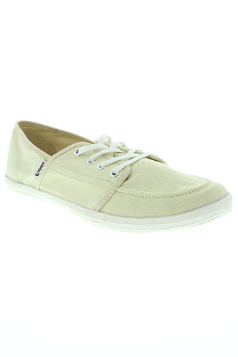 feiyue chaussures homme de couleur beige